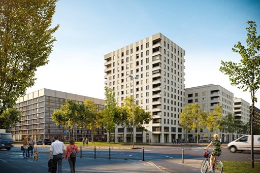 Residential and commercial complex Rietpark, Schlieren